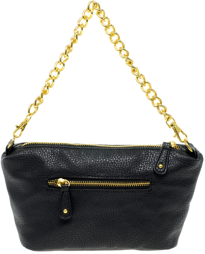 Pieces Zip And Chain Bag
