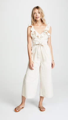 The Line Up Ruffle Jumpsuit