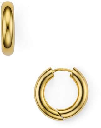 Argentovivo Seamless Huggie Hoop Earrings