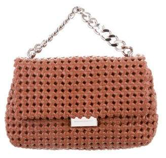 Pre Owned At Therealreal Stella Mccartney Woven Bex Bag