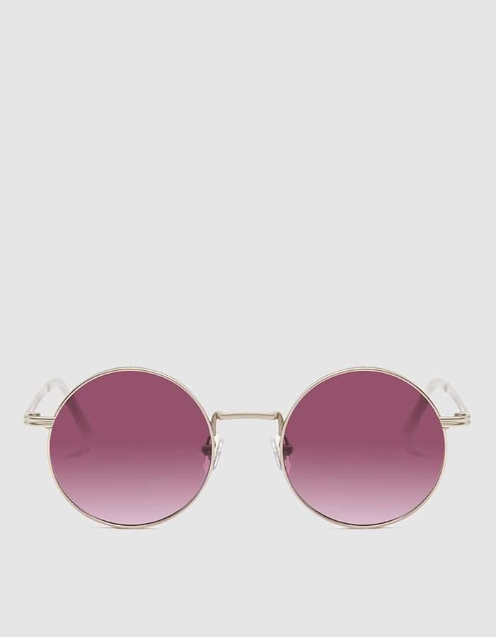 Komono Lennon Sunglasses in Purple Rain