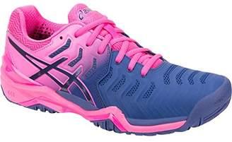 low priced 75385 4ddaa Asics Gel Resolution 7 Womens Tennis Shoe ( Print  Print)