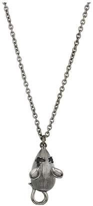 Vivienne Westwood Mouse Pendant Necklace