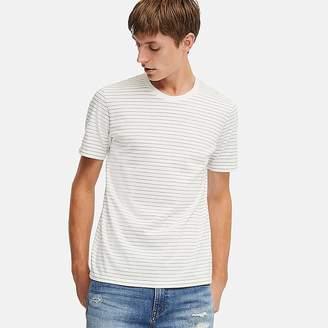 Uniqlo Men's Supima Cotton Striped Short-sleeve T-Shirt