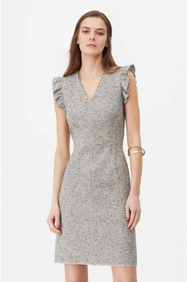Rebecca Taylor Tailored Tweed Dress