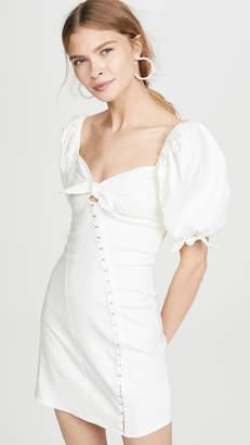 For Love & Lemons Macaroon Hook Front Mini Dress