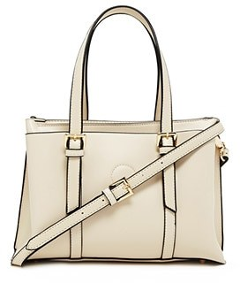 FOREVER 21+ Buckled Faux Leather Satchel $40 thestylecure.com