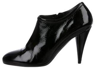 Prada Sport Patent Leather Ankle Booties
