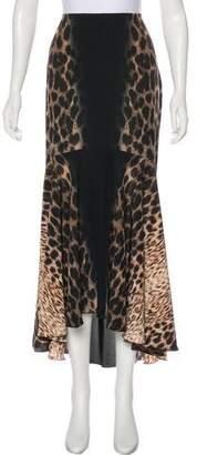 Just Cavalli Animal Print Skirt