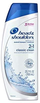 Head & Shoulders Classic Clean 2-in-1 Anti-Dandruff Shampoo + Conditioner 23.7 Fl Oz