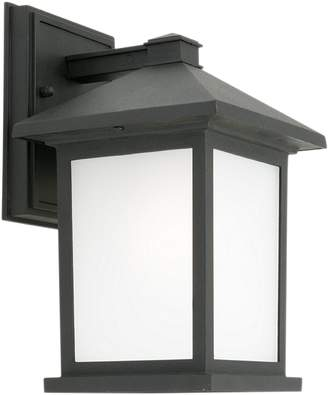 Cougar Lighting Plymouth 1Lt Outdoor Light, Black