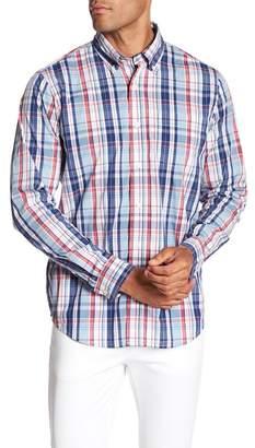 Tailor Vintage Plaid Long Sleeve Stretch Fit Shirt