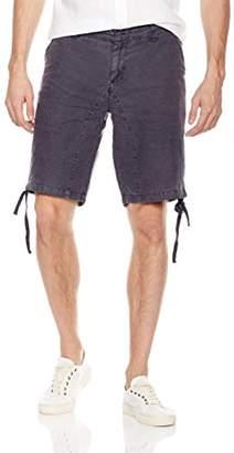 Isle Bay Linens Men's Linen Garment Dyed Short