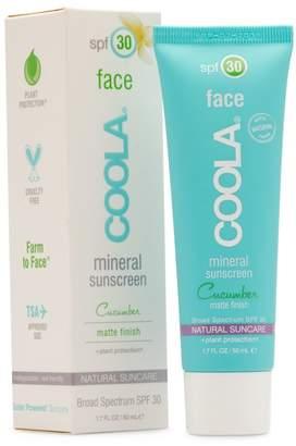 Coola SPF 30 Cucumber Matte-Finish Face Mineral Sunscreen