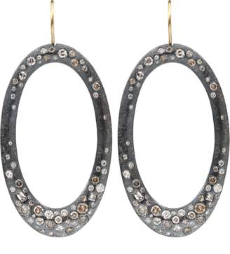 Todd Reed Diamond Pave Drop Earrings