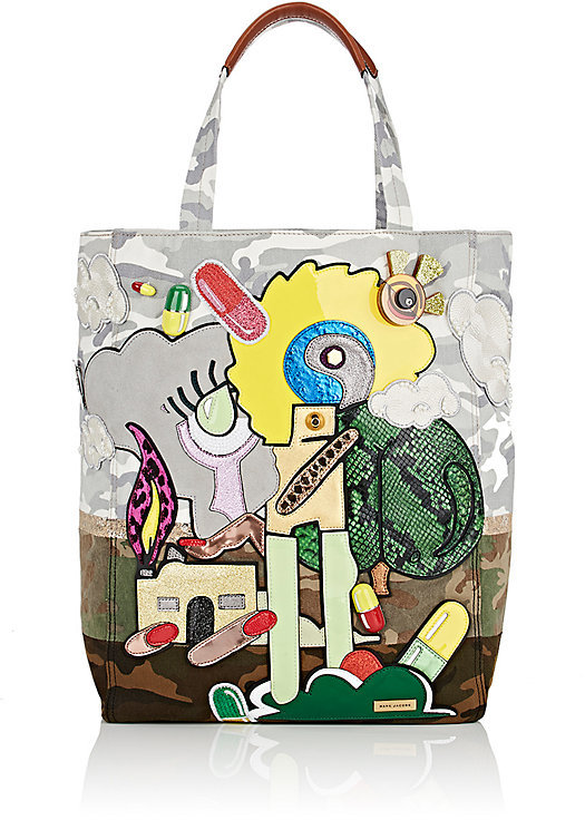 Marc Jacobs Marc Jacobs Women's Camouflage Denim Tote Bag