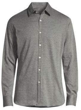 Canali Knit Sport Shirt