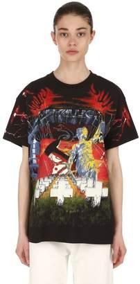 R 13 METALLICA コットンTシャツ