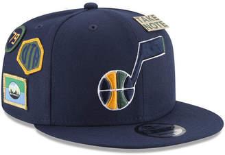 New Era Boys' Utah Jazz On-Court Collection 9FIFTY Snapback Cap