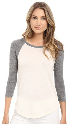 Alternative - Eco Jersey Baseball T-Shirt Women's T Shirt $40 thestylecure.com