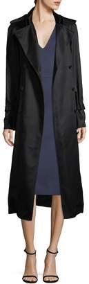 Victoria Beckham Women's Fluid Trench Coat