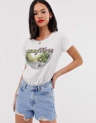Blend She graphic t-shirt