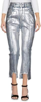 ANNAKIKI Denim pants - Item 42674555EQ