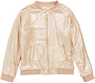 Peek Rosie Sequin Bomber Jacket