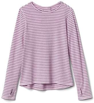 Athleta Girl Striped Envelope Back Top