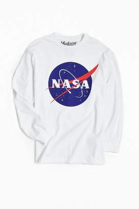 Urban Outfitters NASA Logo Long Sleeve Tee