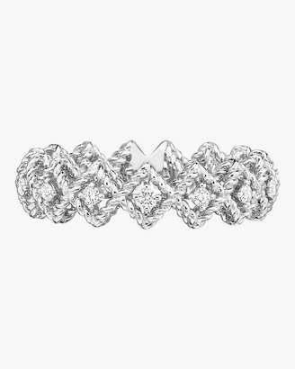Roberto Coin Single Row Diamond Band Ring