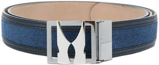 Moreschi plaque buckle belt