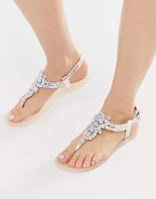 26516dab6 Miss KG embellished jelly sandal