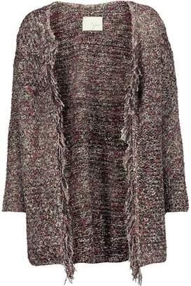 Joie Nenet Fringed Knitted Cardigan