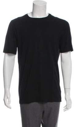 Helmut Lang Woven Crew Neck Shirt