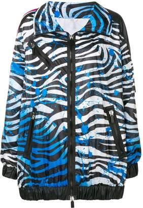 NO KA 'OI No Ka' Oi zebra print performance jacket