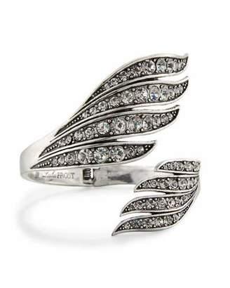 Lulu Frost Lillie Open Wing Cuff Bracelet $225 thestylecure.com