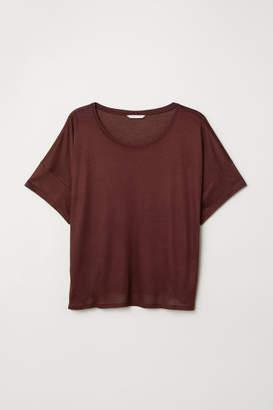 H&M Viscose T-shirt - Red