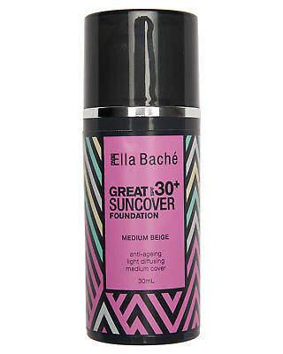 Ella Bache Men's Great Suncover Spf 30 Plus 30Ml Brown