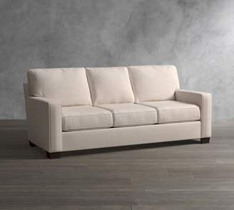 Pottery Barn Buchanan Square Arm Upholstered Sleeper Sofa