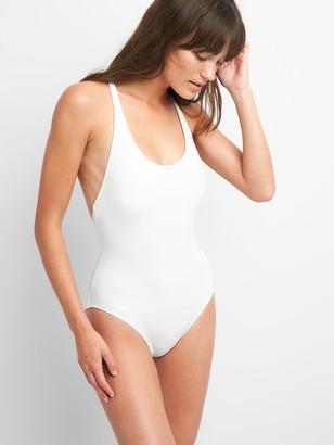 Gap Crossback One-Piece Suit
