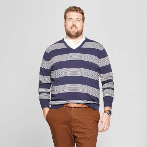 Goodfellow & Co Men's Big & Tall Crew Neck Sweater - Goodfellow & Co Navy Heather