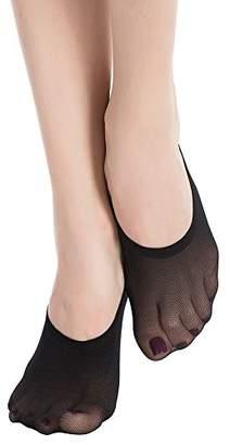 Stocking Fox Women's 12-Pack Non-Slip No-Show Liner Sock ...
