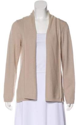 Max Mara Long Sleeve Virgin Wool & Cashmere-Blend Cardigan