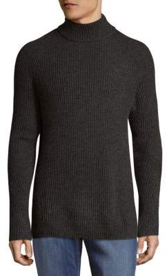 Vince Camuto Ribbed Mockneck Sweater