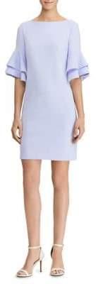 Lauren Ralph Lauren Tiered Ruffle Sleeve Shift Dress