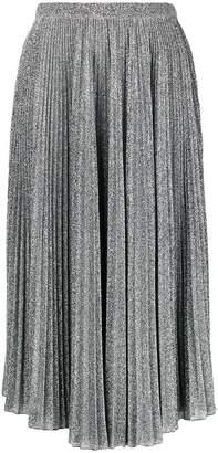 Philosophy di Lorenzo Serafini glittery pleated midi skirt