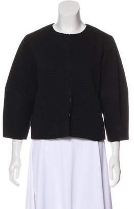 Alice + Olivia Textured Casual Jacket