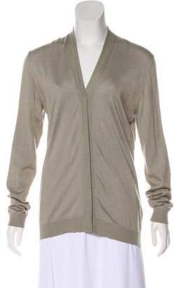 Calvin Klein Collection Silk & Cashmere Cardigan