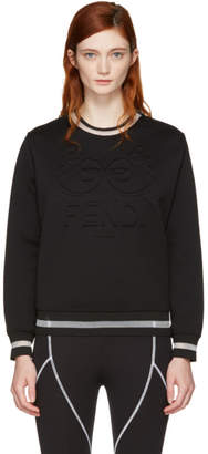 Fendi Black Roma Sweatshirt